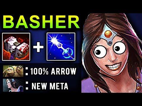 BASHER MIRANA DOTA 2 PATCH 7.07 NEW META PRO GAMEPLAY