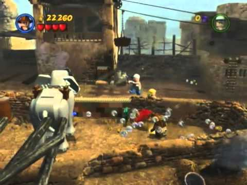 Let's Play LEGO Indiana Jones 2 #12: Feeding Peanuts to a Monkey