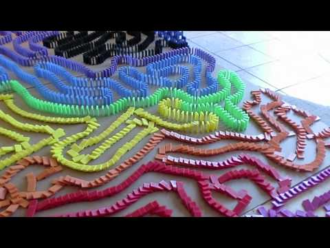 Guinness World Record - Longest / Biggest Domino Line Ever