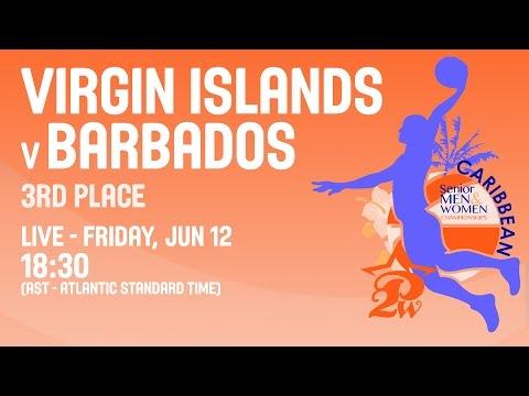 Virgin Islands v Barbados - 3rd Place - 2015 CBC Women's Championship