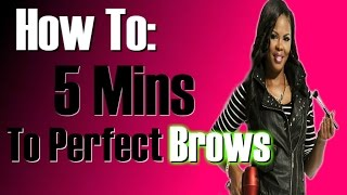 PERFECT Brows in 5 mins Best NEW PRODUCTS