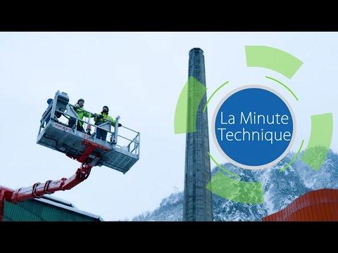 La Minute Technique  - Diagnostic sur cheminées industrielles