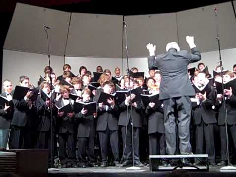 Archbishop Curley High School Choir sings Manly Men