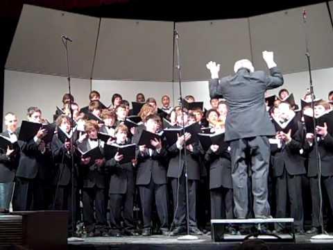 Archbishop Curley High School Choir sings Manly Men - 05/09/2010