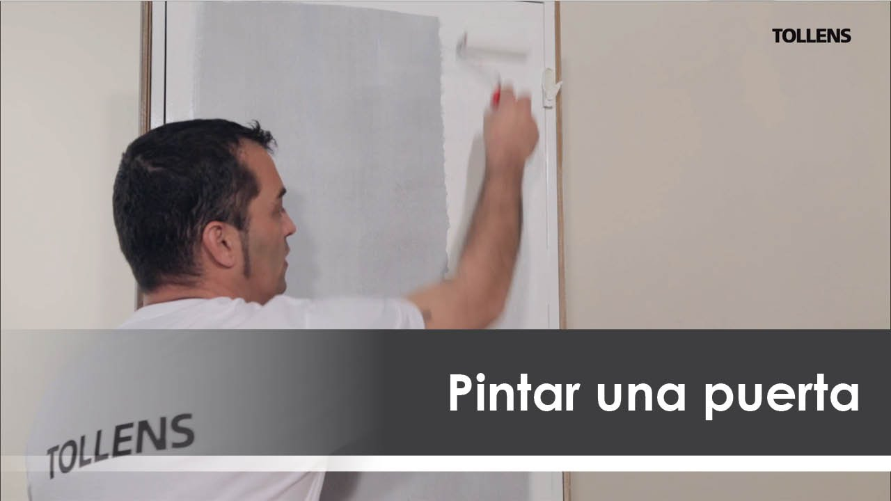 Pintar una puerta de blanco roto youtube - Restaurar decorar y pintar muebles ...