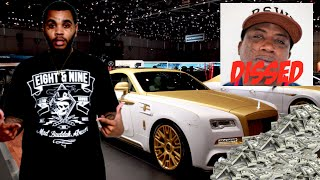 Kevin Gates Spends $500,000 on 2016 Wraith!! Disses Gucci Mane