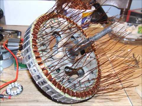 Golden Motor 48volt hubmotor *rewind*