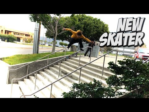 NEW SKATER ANDREAS ALVAREZ & MUCH MORE !!! - NKA VIDS -