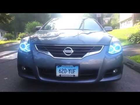 2010-2011 Nissan Altima ColorSHIFT Halo Headlights by ORACLE Lightin