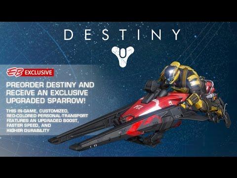 To find destiny pre order bonuses vanguard weapons emblem ghost