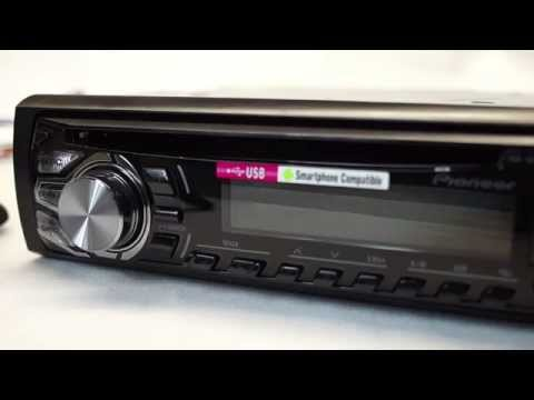 Pioneer DEH 1600UBG-Review [german] [HD]