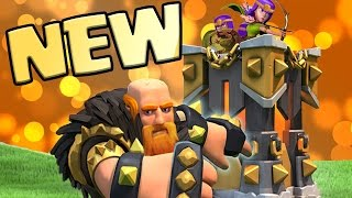 New LEVEL 8 Giant & LEVEL 14 Archer Tower INCOMING!!   Sneak Peek - Mini Update   Clash of Clans