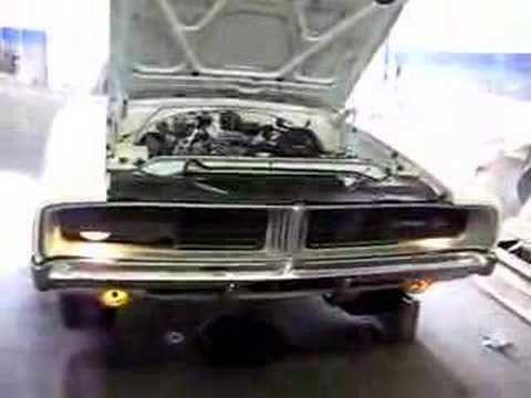 1969 Charger Start Up And Hideaway Lights Youtube