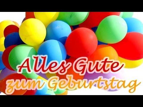 Поздравления с днем рождения на немецко