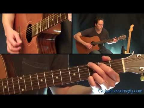 More Than A Feeling Guitar Lesson Pt.1 - Boston - All Acoustic Guitar Rhythm Parts