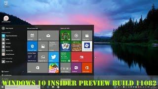 Windows 10 Insider Preview Build 11082 - Redstone (Deutsch) | InstantMobile
