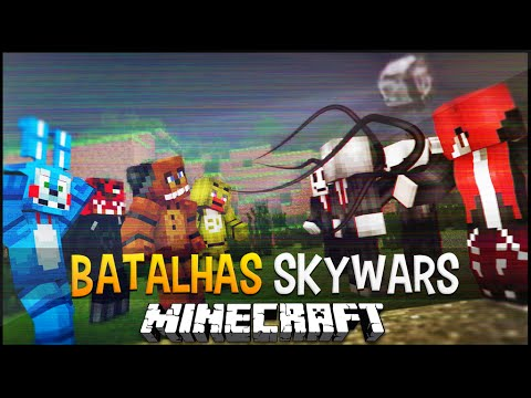 Minecraft: Five Nights at Freddy's vs Slender – Batalhas SkyWars