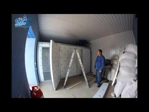 Как собрать холодильную камеру