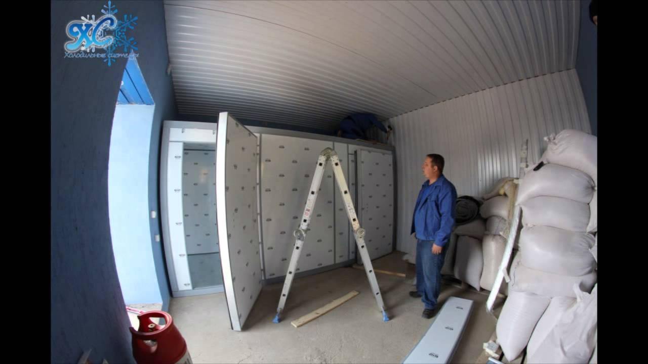 Как собрать холодильную камеру своими руками 12