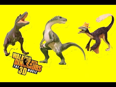 Dinosaur Toys Walking with Dinosaurs 3D Movie Mini Dinosauri Unboxing