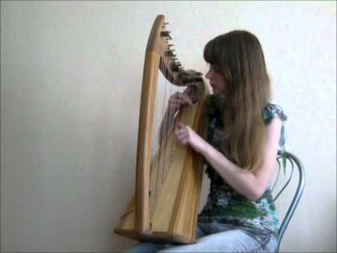 Elena and Eve - Call of Magic (Morrowind Theme) on the celtic harp Music Videos