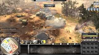 COMPANY OF HEROES 2 - online battle #3 - hd