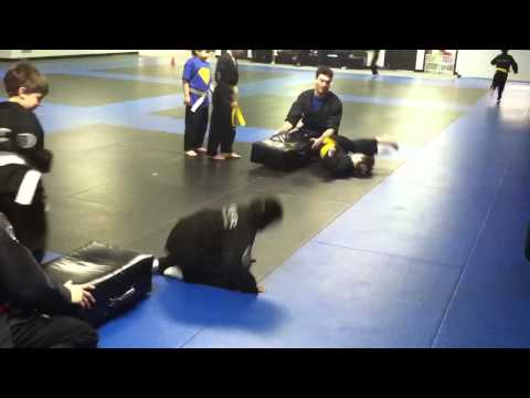 Ryer Martial Arts Kid's Break Fall Drill and Game