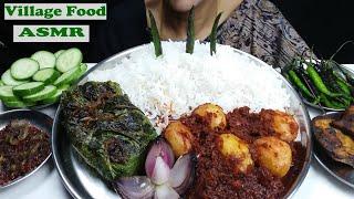 ASMR Super Delicious Village Food Mukbang Indian Food