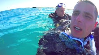 EMERGENCY SCUBA DIVING  FAIL!!
