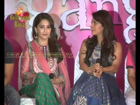 Launch of Song Dheemi Dheemi for the film ''Gulaab Gang'' 4