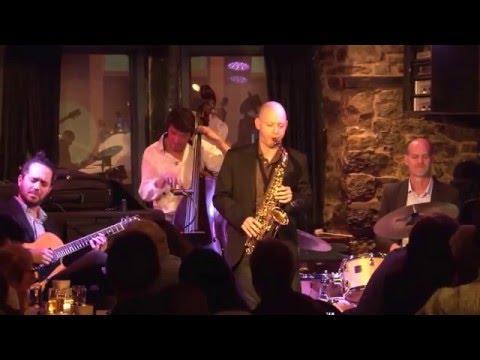 Tevet Sela quartet feat. Yotam Silberstein Live @ 'Upstairs' Montreal