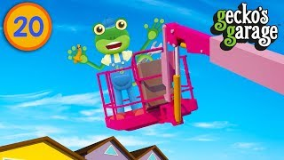Gecko Is In Danger! | Gecko's Garage | Trucks For Children | Educational Videos For Toddlers
