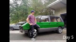 Do it yourself paintjob Renault Espace 1986