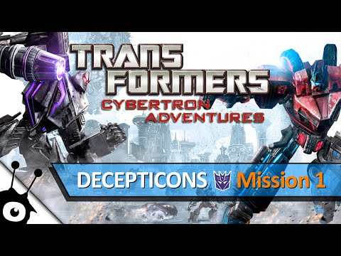 Transformers: Cybertron Adventures (Mission 1, Decepticons) | HD
