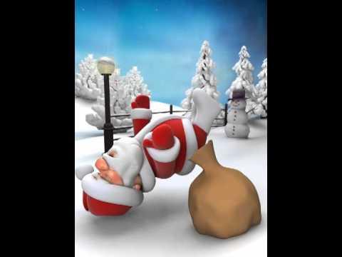 Дед Мороз прикол Санта не может рассказать 1 анекдот