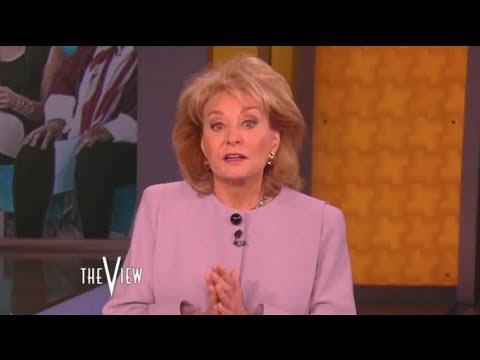 Barbara Walters Announces Her Retirement On The View