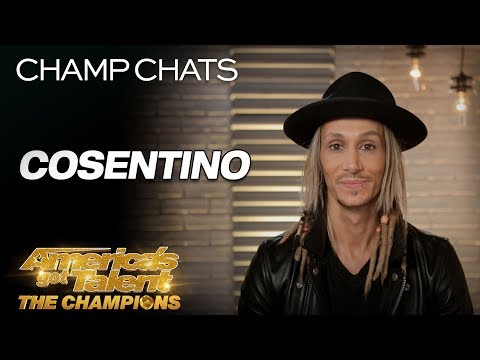 Cosentino Describes His Death-Defying Creation In Detail - America's Got Talent: The Champions