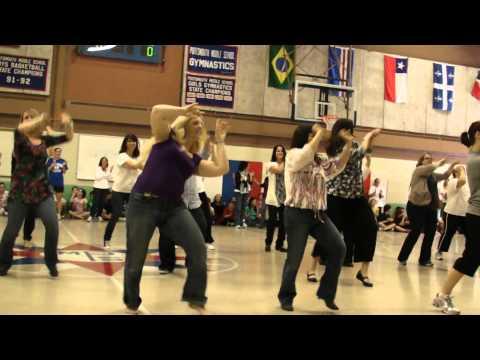 Baldwin boys high school teachers day celebration senior boys dance