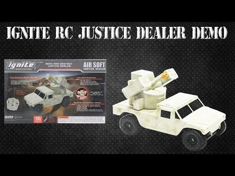 Airsoft Ignite RC Justice Dealer Review
