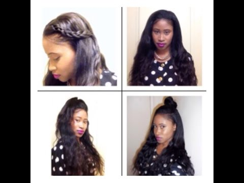 Vixen Sew-In weave Tutorial (Versatile and Natural looking)