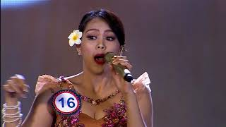 Bilyana Lathisya - Indonesia performance Semi-final
