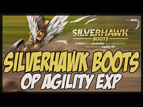Runescape – Silverhawk Boots | OP Agility XP! 320k p/h? – Good or Bad?