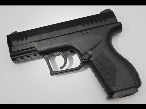 Umarex XBG Co2 BB Pistol (4.5mm) Review - NEW for 2012!