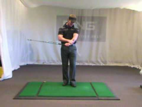 Jeff Ritter - Golf Swing - Back Swing Sequence - Left Arm