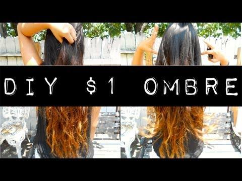 DIY $1 Ombre