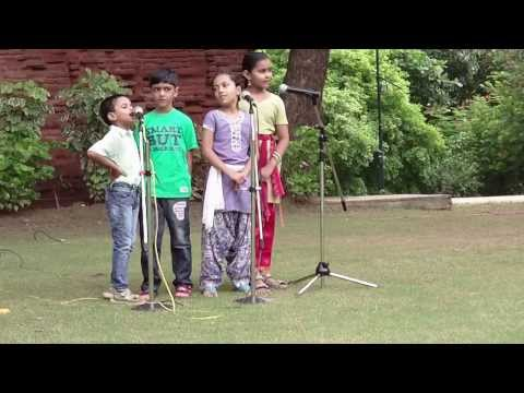 Aao Bachcho Tumhe Dikhaye Action Song by NID Campus Kids 15...