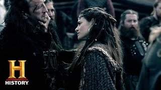 Vikings: Princess Kwenthrith Examines Her New Warriors (Season 2, Episode 9) | History