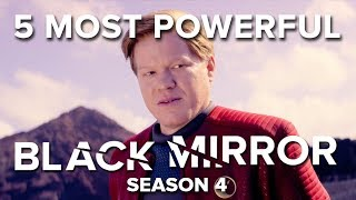 5 Most Powerful Moments In Black Mirror || Season 4