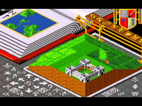 Populous, Amiga - Part 1 - Overlooked Oldies