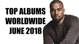 Top Selling Albums Worldwide of June 2018